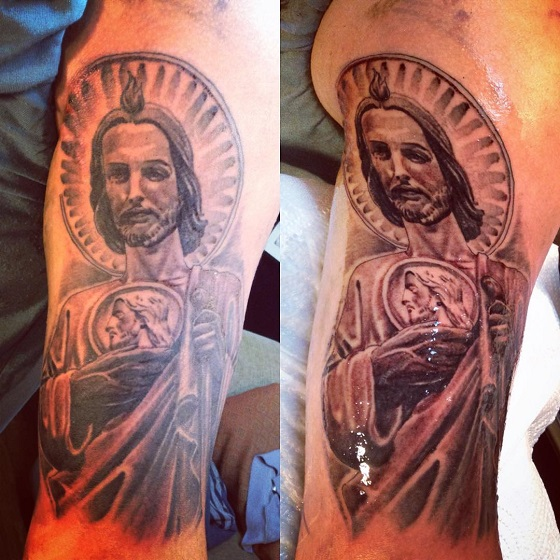 tatuajes sa judas tadeo 4 - tatuajes de san judas