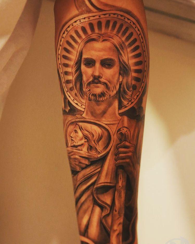 tatuajes sa judas tadeo 5 - tatuajes de san judas