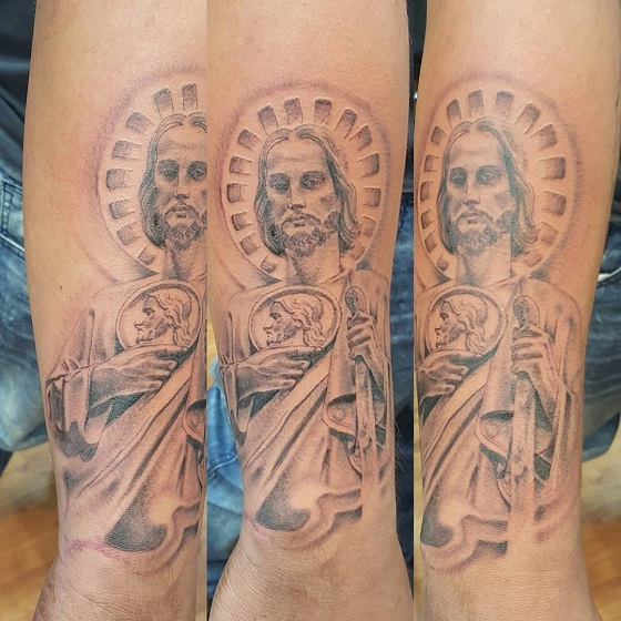 tatuajes sa judas tadeo 6 - tatuajes de san judas
