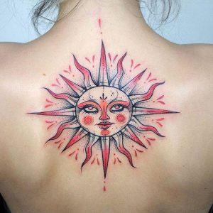 tatuajes sol color 2 300x300