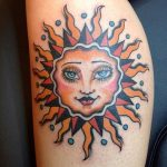 tatuajes sol color 5 150x150