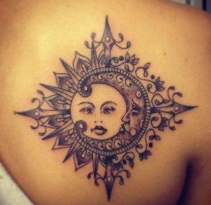 tatuajes sol luna 2 300x292