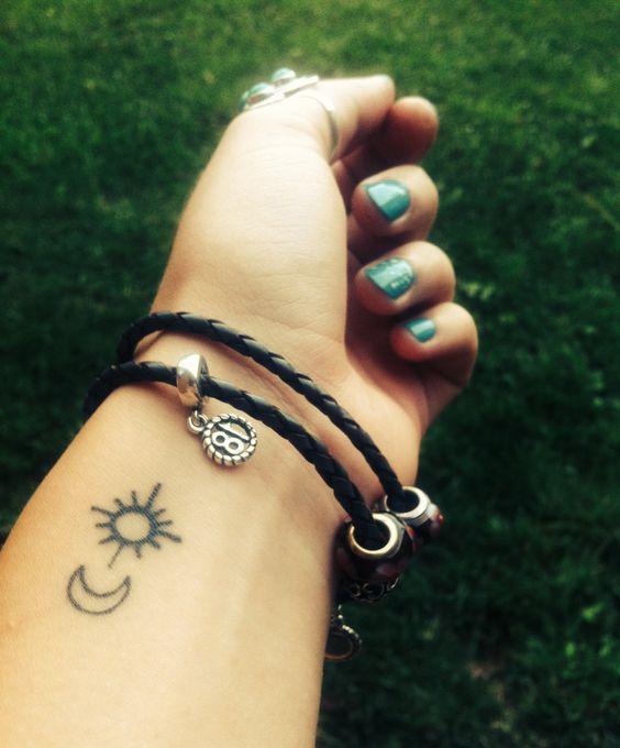 tatuajes sol luna 5 - tatuajes del sol