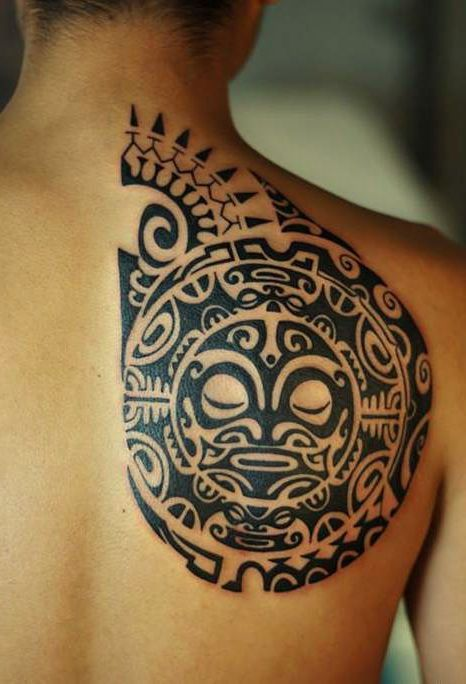 tatuajes sol maories 2 - tatuajes del sol