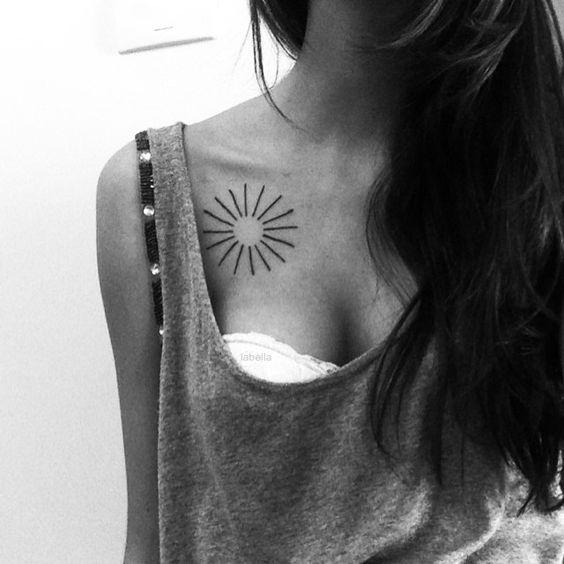 tatuajes sol para mujeres 4 - tatuajes del sol