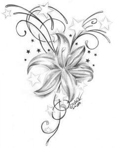 diseño boceto tatuajes mujeres 5 233x300