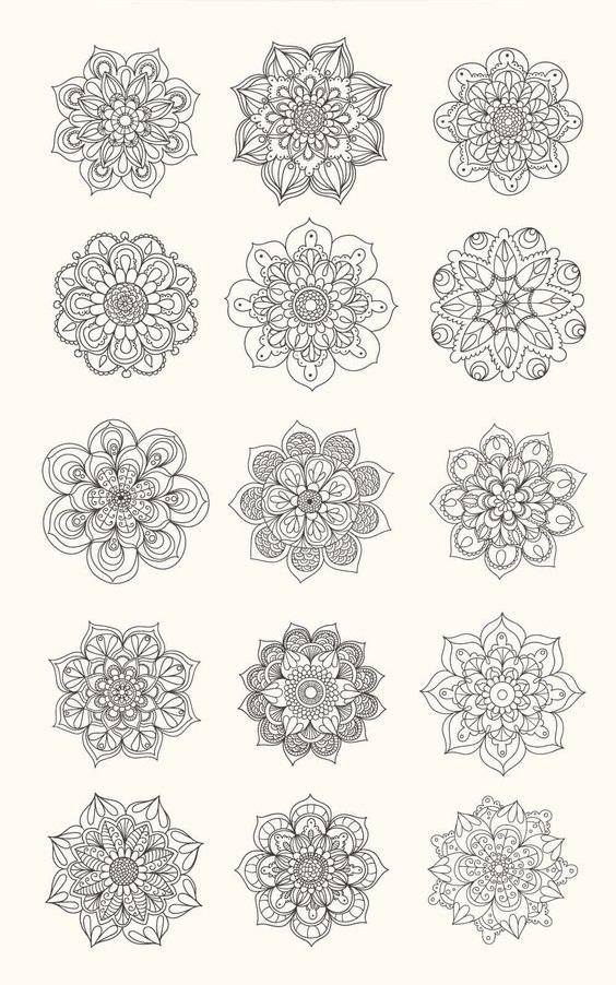 diseños mandalas 1