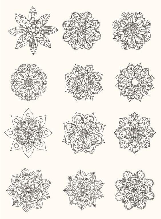 diseños mandalas 2