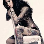tatuajes de famosos Kate Von D2 150x150