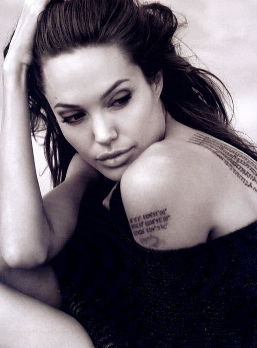 tatuajes de famosos angelina jolie