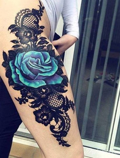 tatuajes de mujeres pierna 4 e1489000805125 - Tatuagens Feminina