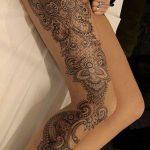 tatuajes de mujeres pierna 5 150x150
