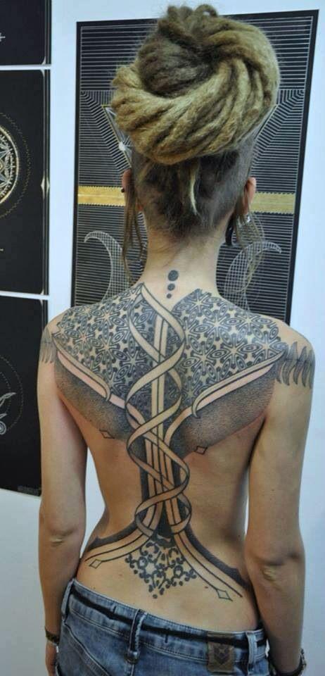 tatuajes de mujeres rastas 1 - Tatuagens Feminina