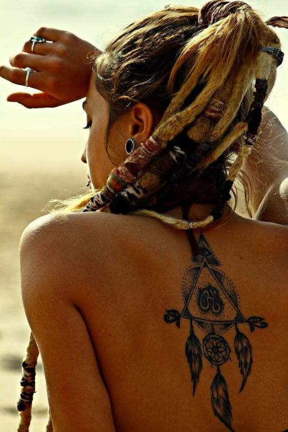 tatuajes de mujeres rastas 3 - Tatuagens Feminina