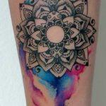tatuajes mandalas acuarela 2 150x150