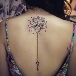 tatuajes mandalas flor loto 1 - tatuajes de mándalas