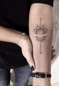 tatuajes mandalas flor loto 2 206x300