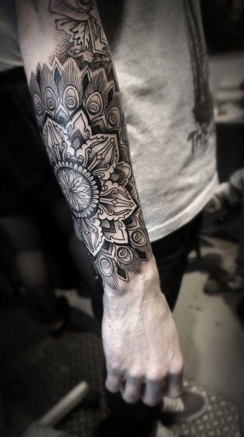 tatuajes mandalas hombres 3