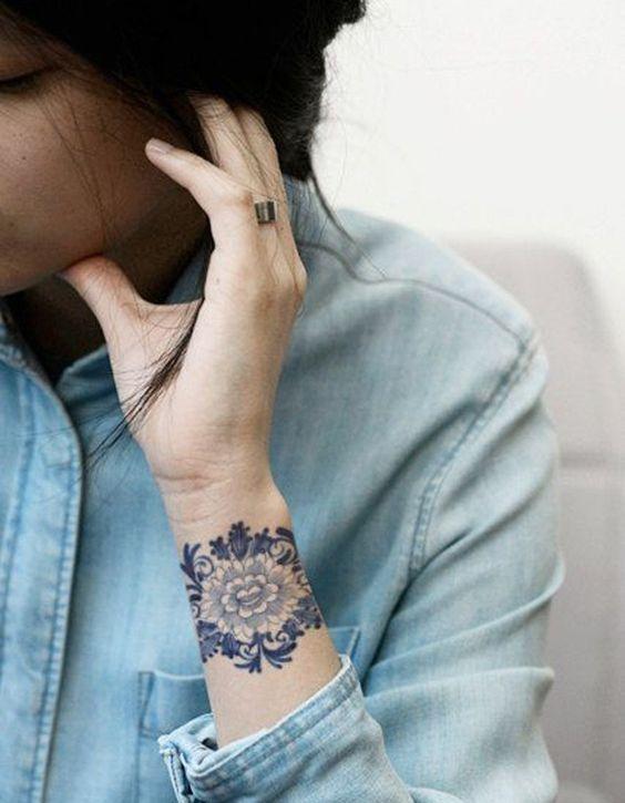 tatuajes mandalas pequeños 5 - tatuajes de mándalas