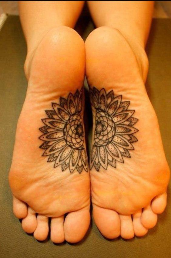 tatuajes mandalas pie 7 - tatuajes de mándalas