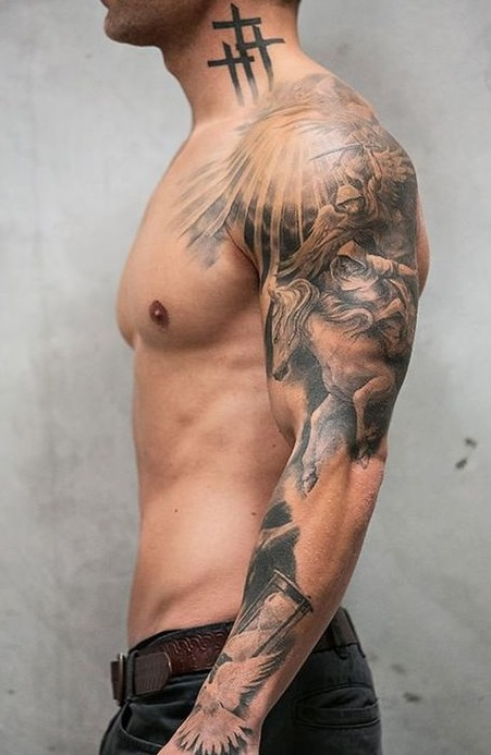 101 Best Tattoos for Men with Meaning- Big, Small & Colored 9
