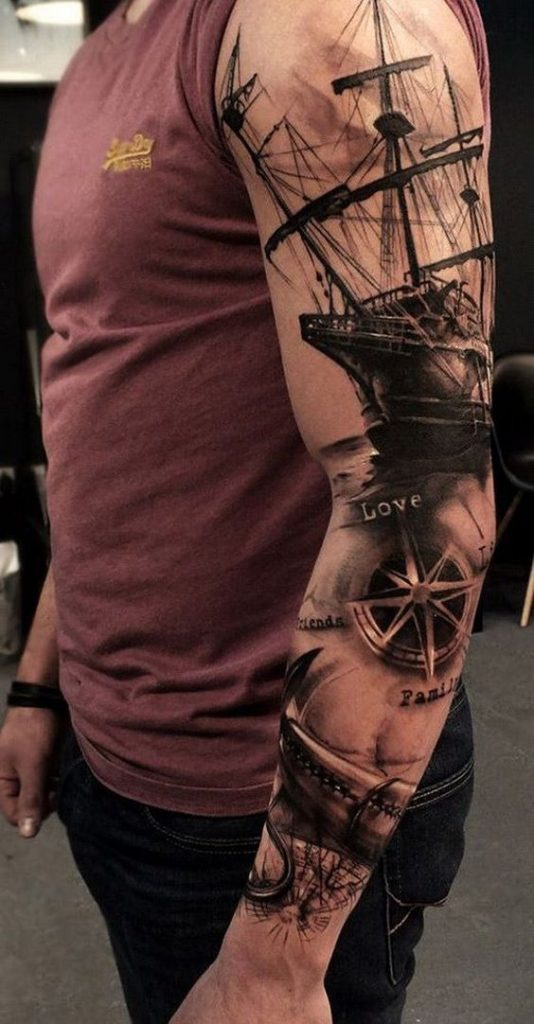 101 Best Tattoos for Men with Meaning- Big, Small & Colored 38