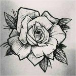 diseños plantillas bocetos tatuajes de rosas 1 150x150