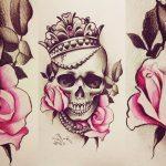 diseños plantillas bocetos tatuajes de rosas 4 150x150