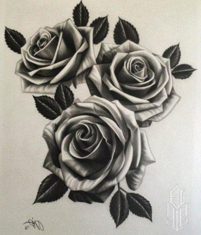Los tatuajes de rosas y sus significados tatuajes geniales - Tattoo disenos a color ...
