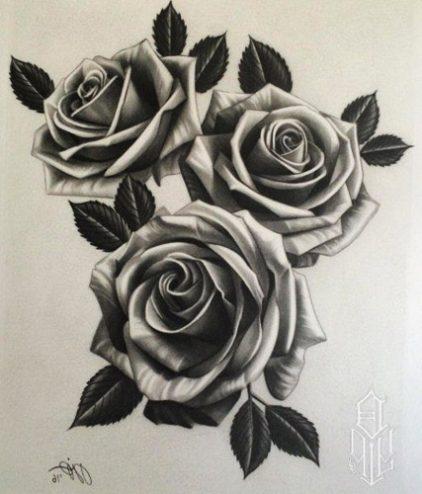 80 Tatuajes de Rosas y sus Significados (+Imágenes ...