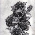 diseños plantillas bocetos tatuajes de rosas 6 150x150