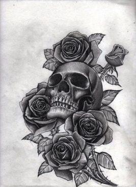 diseños-plantillas-bocetos-tatuajes-de-rosas (6)