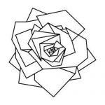 diseños plantillas bocetos tatuajes de rosas 7 150x150