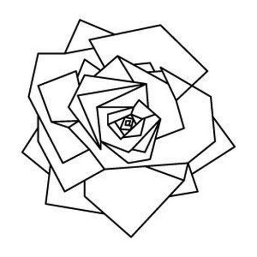 diseños plantillas bocetos tatuajes de rosas 7 - tatuajes de rosas