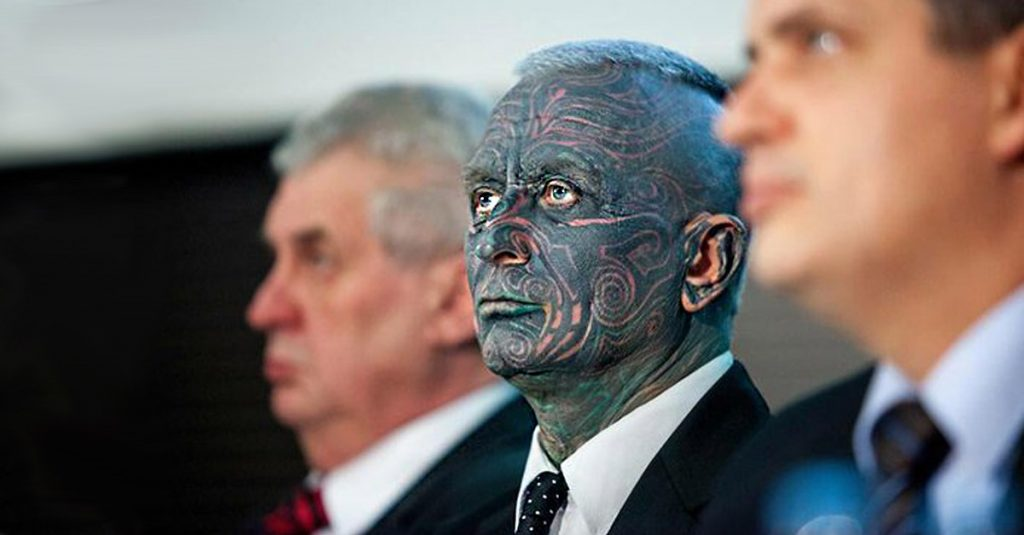 Vladimir Franz: The politician with 90% of the body tattooed