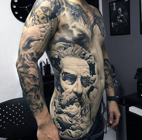 tatuajes 3D hombres 1
