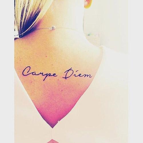 tatuajes carpe diem mujeres 5