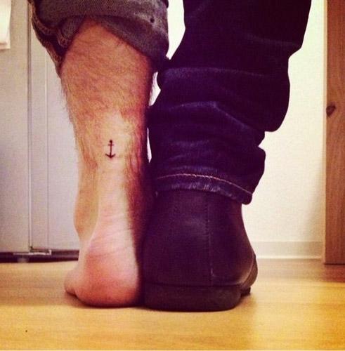 tatuajes hipster de anclas 1 - tatuajes hipster
