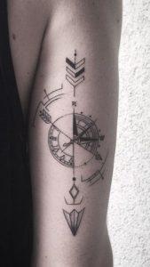 tatuajes hipster de flechas 2 169x300