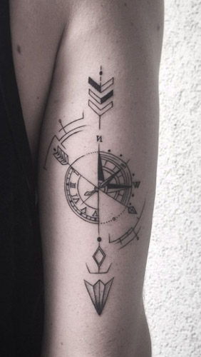 tatuajes hipster de flechas 2 - tatuajes hipster