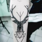 tatuajes hipster de venado 2 150x150