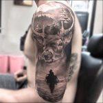 tatuajes hipster de venado 4 150x150