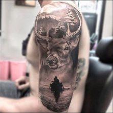 tatuajes-hipster-de-venado (4)