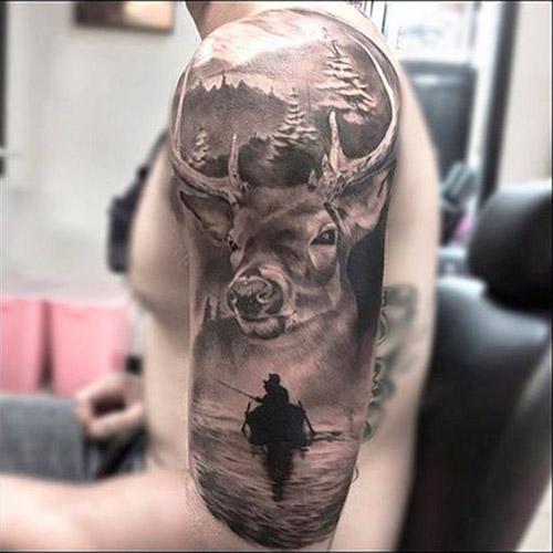 tatuajes hipster de venado 4 - tatuajes hipster