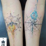 tatuajes hipster para parejas 2 150x150