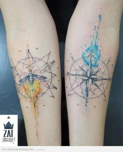 tatuajes hipster para parejas 2 - tatuajes hipster