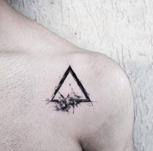 tatuajes hipster triángulo 5 - tatuajes hipster
