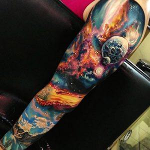 tatuajes hombres blackwork a color 3 300x300
