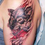 tatuajes lobos 3D 1 150x150