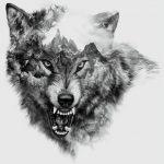 tatuajes lobos diseños 1 150x150